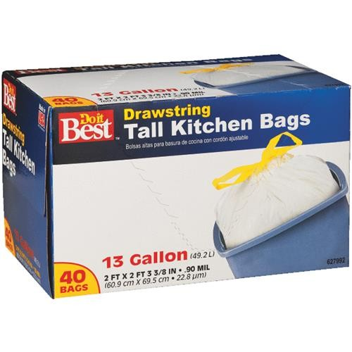 Presto Products Do it Best Tall Kitchen Trash Bag