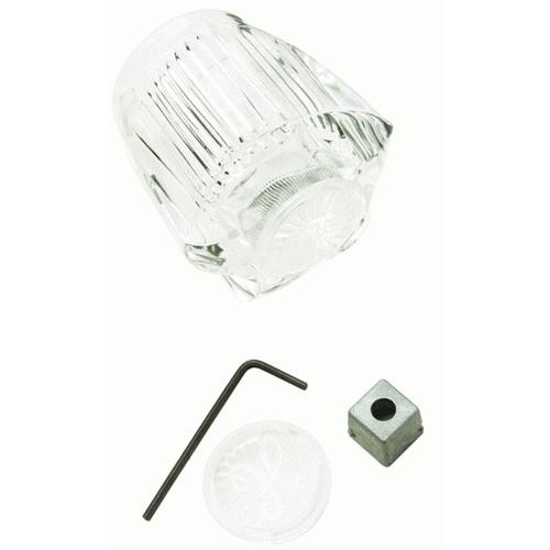 Plumb Pak/Keeney Mfg. Do it Clear Acrylic Tub and Shower Faucet Handle