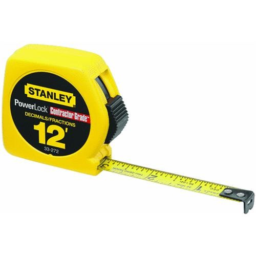 Stanley Stanley Powerlock Tape Measure with Decimal Scale