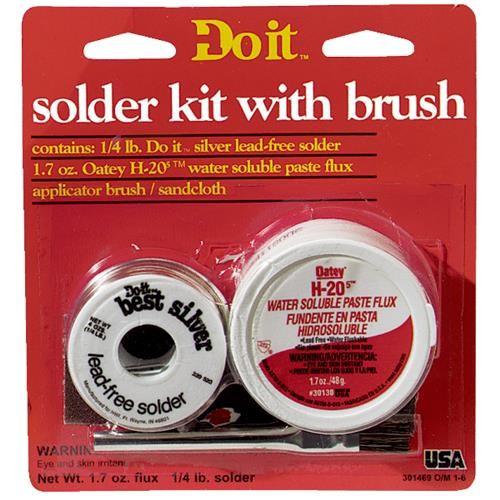 Oatey Do it H-205 Water Soluble Lead-free Paste Flux Kit