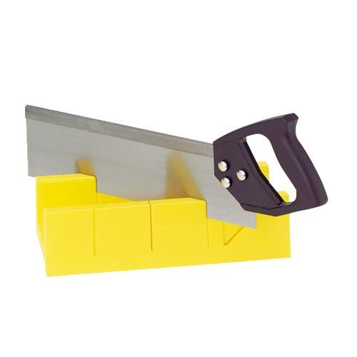 Great Neck Do it Plastic Miter Box With Saw