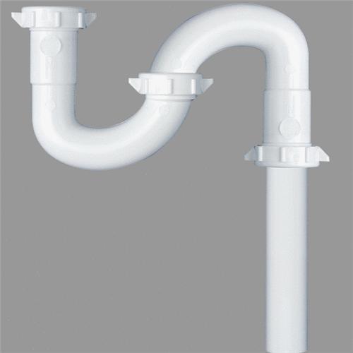Plumb Pak/Keeney Mfg. Do it White Plastic S-Trap