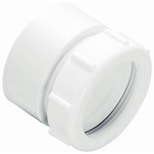 Plumb Pak/Keeney Mfg. Do it White Plastic Trap Waste Adapter