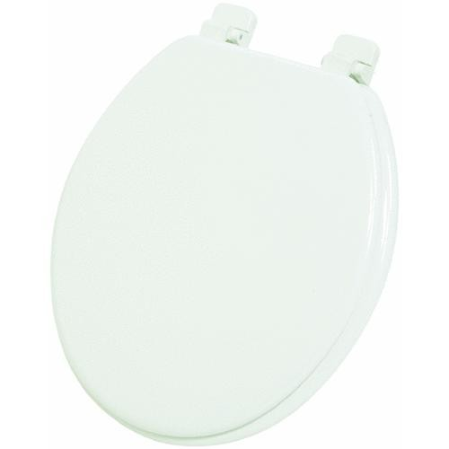 Do it Best Imports Home Impressions Round Wood Toilet Seat
