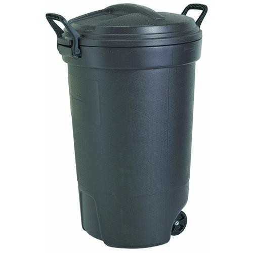 United Solutions Rubbermaid Double Handle Wheeled Trash Can