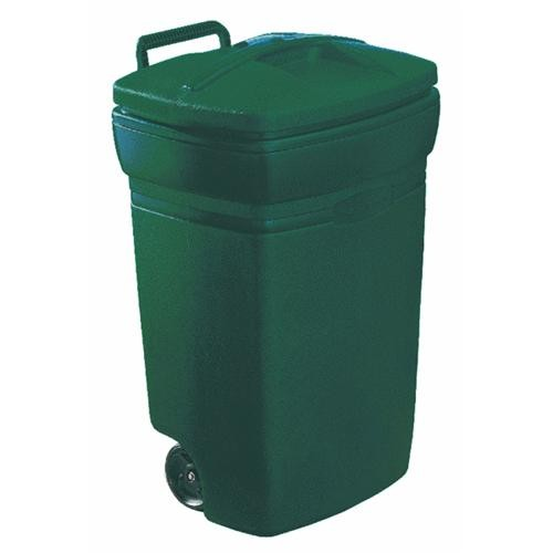United Solutions Rubbermaid Wheeled Trash Can