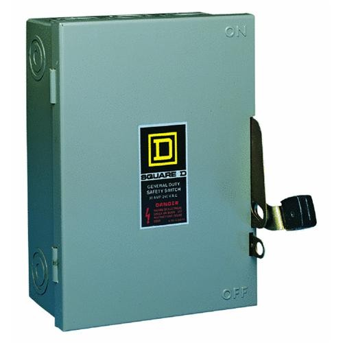 Square D Co. Square D Fusible Safety Switch With Neutral