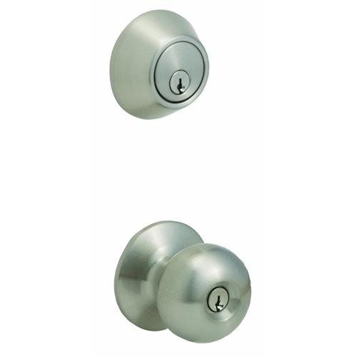 Do it Best Global Sourcing Steel Pro Entry Lockset And Single Cylinder Combo