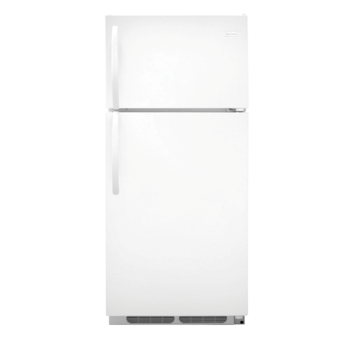 Frigidaire 16 C/F Refrigerator with Top Freezer,  Energy Star, Wire Shelves, No Ice Maker, ADA Compliant, FFHT1614 Series, White