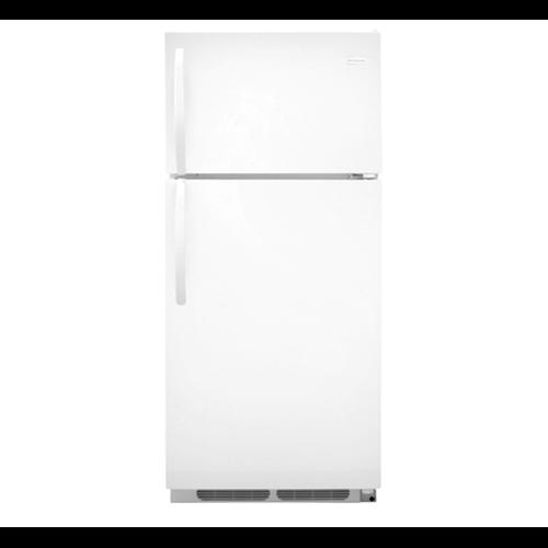 Frigidaire 16 C/F Refrigerator with Top Freezer,  Wire Shelves, No Ice Maker, ADA Compliant, FFTR1614RW, White