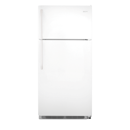 Frigidaire 18 C/F Refrigerator with Top Freezer,  Energy Star, Wire Shelves, No Ice Maker, ADA Compliant, FFHT1814QW, White