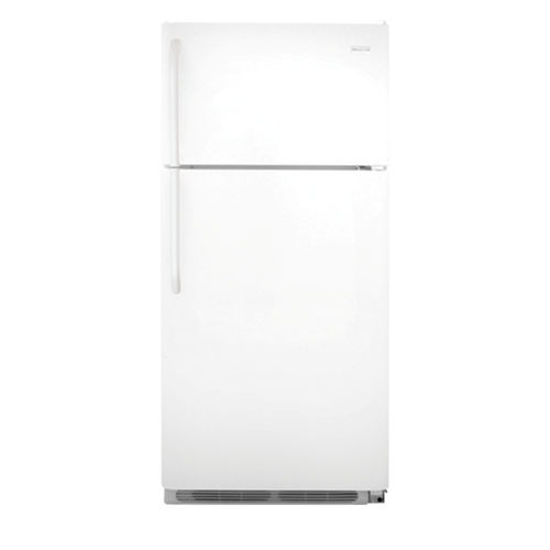 Frigidaire 18 C/F Refrigerator with Top Freezer with Ice Maker,  Energy Star, Wire Shelves, ADA Compliant, FFHI1831QP, White