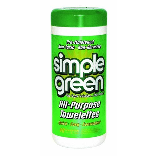 Sunshine Makers Simple Green All-Purpose Towelettes