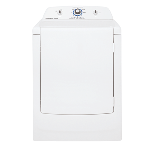 Frigidaire Affinity High Efficiency Electric Dryer, FARE1011MW, White