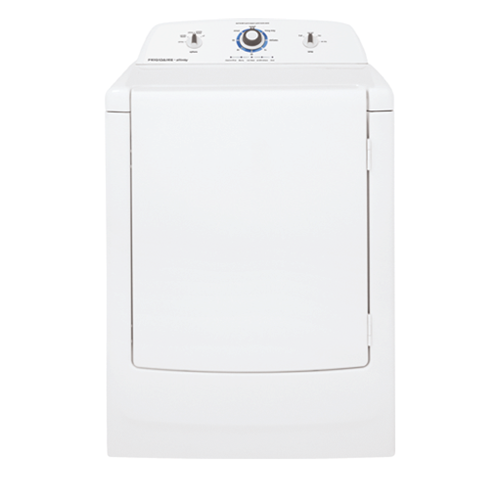 Frigidaire Affinity High Efficiency Gas Dryer, FARG1011MW, White