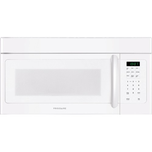 Frigidaire Microwave 1.6 C/F, Over-The-Range, FFMV162LW, White