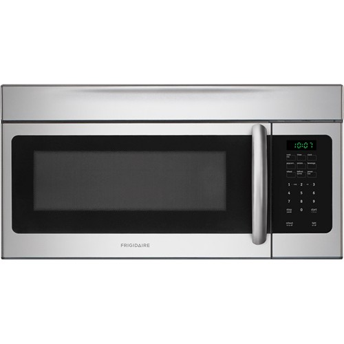 Frigidaire Microwave 1.6 C/F, Over-The-Range Stainless Handle, FFMV164LS, Stainless Steel