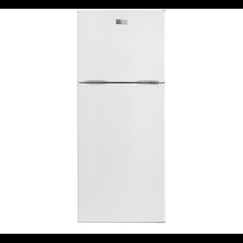 Frigidaire 10 C/F Refrigerator with Top Freezer, Glass Shelves, No Ice Maker, ADA Compliant, FFTR1022QW, White