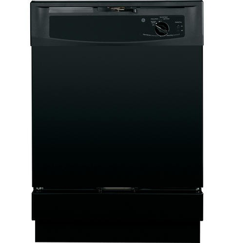 "General Electric 24"" Built In Dishwasher Standard Tub Design, 5 Cycles, GSD2100VBB, Black"