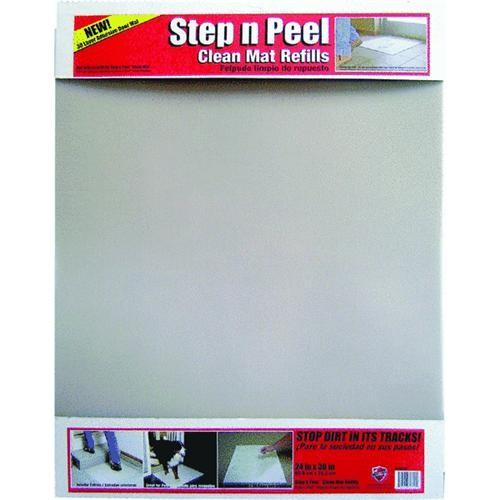 Surface Shields Inc. Dirt Grabber Step n Peel Clean Mat Refill Sheets
