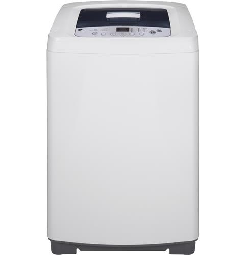 General Electric 2.6 C/F Portable Washer with Stainless Steel Basket, WSLP1500HWW, White