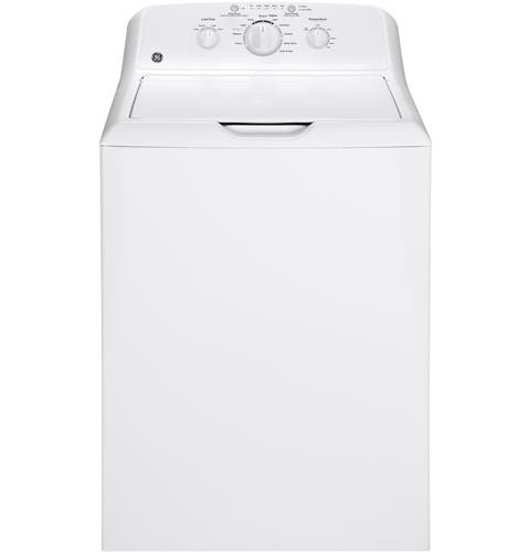 General Electric Top Load Washer 3.8 C/F, Stainless Steel Basket, 10 Cycles, GTW220ACKWW, White