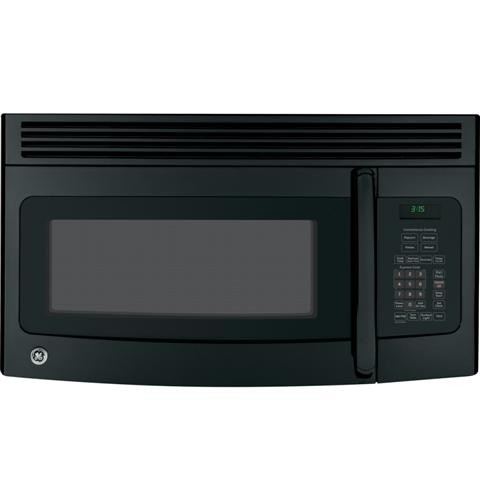 General Electric Microwave 1.5 C/F  Over-The-Range, 950 Watts, 10 Power Levels, 300 CFM Vent,  JNM3151DFBB, Black