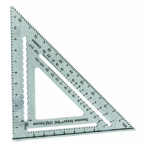 Swanson Tool Speed Square Big 12 Rafter Angle Square