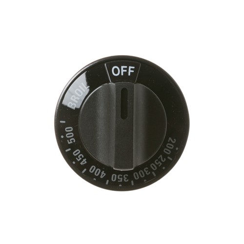 General Electric WB03K10048 KNOB-THERMOSTAT (BLK)