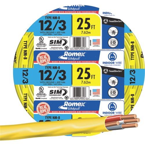 Southwire Southwire 12-3 NMW/G Wire