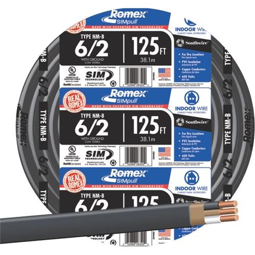 Southwire Southwire 6-2 NMW/G Wire