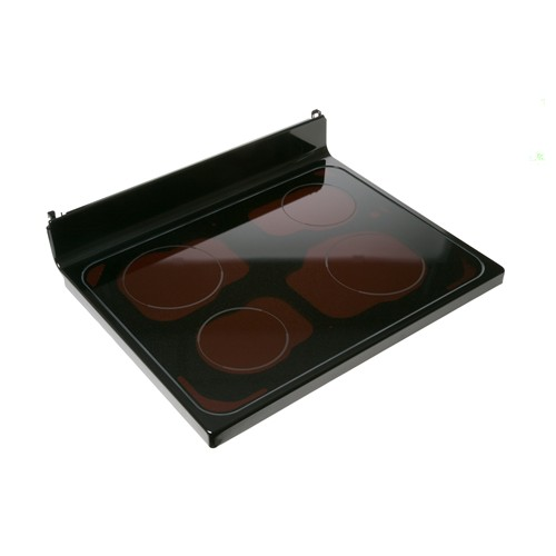 General Electric WB62T10646 Range glass cooktop assembly - black color