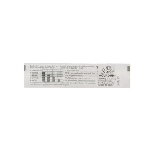 General Electric WD01X10295 Water hardness test strip