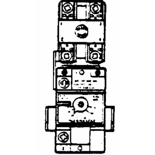 Reliance/State Ind. (WH9-6D) Thermostat With E.C.O. And Long Shaft For Exposed Control Knob