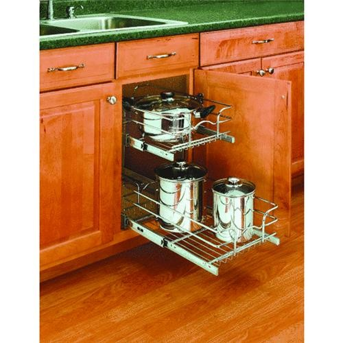 Rev a Shelf Rev-A-Shelf 2-Tier Pull-Out Cabinet Organizer