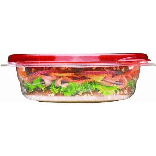 Rubbermaid Home 4-Piece Sandwich Food Storage Container