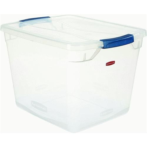 Rubbermaid Home 30 Quart. Latching Lid Storage Tote