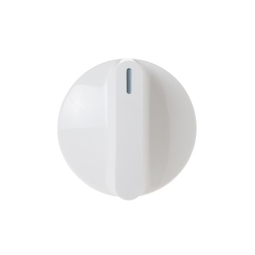 General Electric WH01X10313 Clothes washer control knob, white color