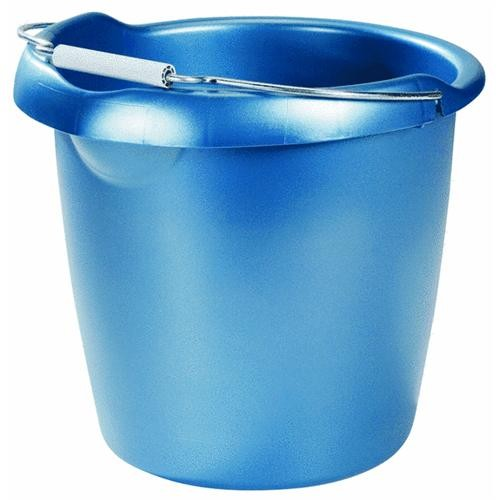 Rubbermaid Home 15 Quart Blue Bucket