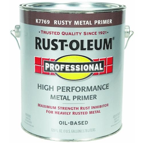 Rust Oleum VOC Red Rusty Metal Primer For SCAQMD