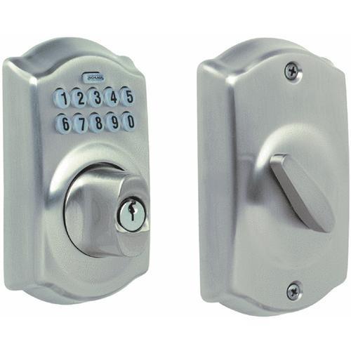 Schlage Lock Electronic Keypad Deadbolt