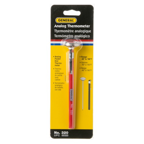 General Electric WX05X10412 Thermometer (Analog Dial)