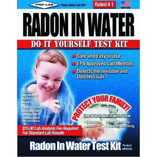 Pro Lab Inc. Radon In Water Test Kit
