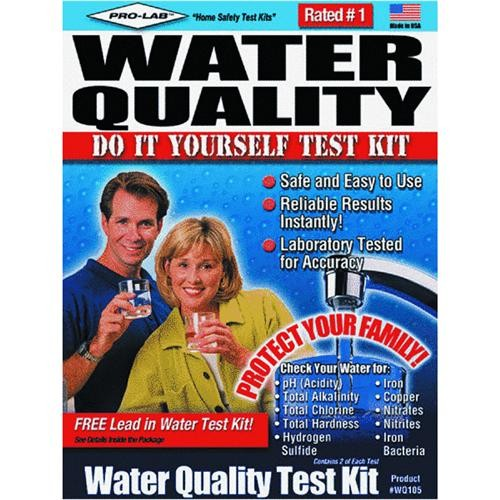 Pro Lab Inc. Water Quality Test Kit