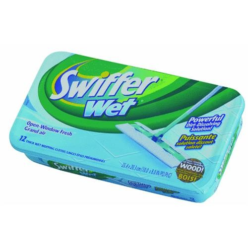 Procter & Gamble Swiffer Sweeper Wet Refill Cloth