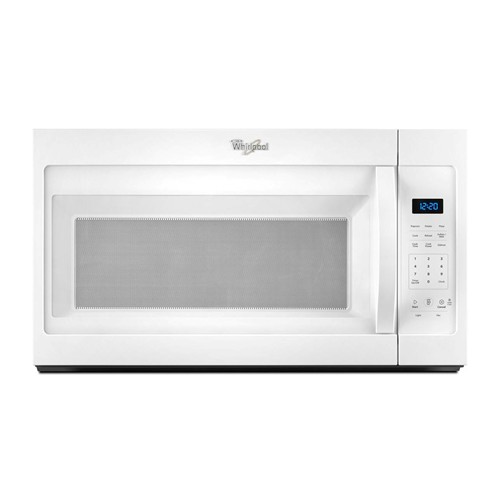 Whirlpool Microwave 1.7 C/F  Over-The-Range, 1000 Watts, 2 Speed, 300 CFM Vent, WMH31017FW, White