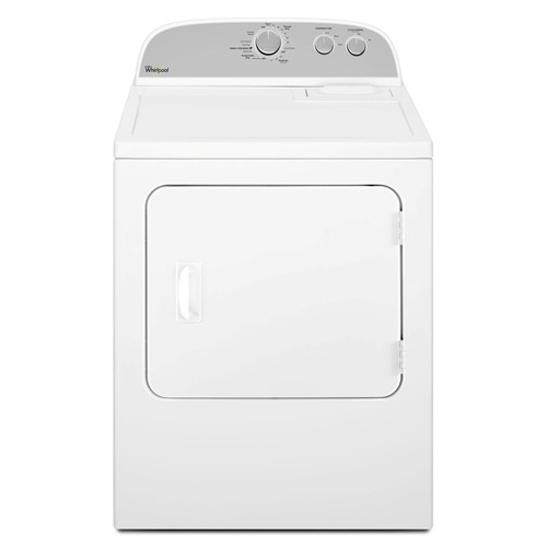 Whirlpool 7.0 C/F Electric Dryer, 12 Cycles, WED4616FW, White