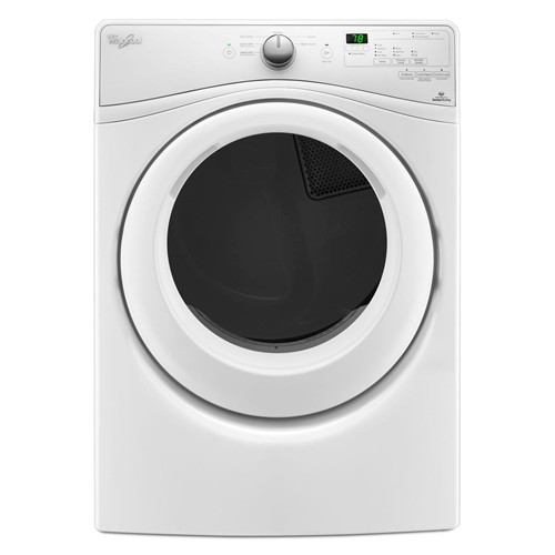 Whirlpool 7.4 C/F Electric Dryer, 6 Cycles, Energy Star, WED75HEFW, White