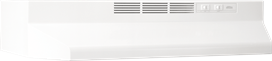 "Broan 30"" Hood, Non Ducted, 2 Speed, 413001, White"