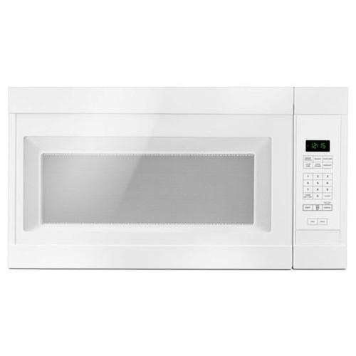 Amana Microwave 1.6 C/F  Over-The-Range, 1000 Watts, 2 Speed, 300 CFM Vent, AMV2307PFW, White